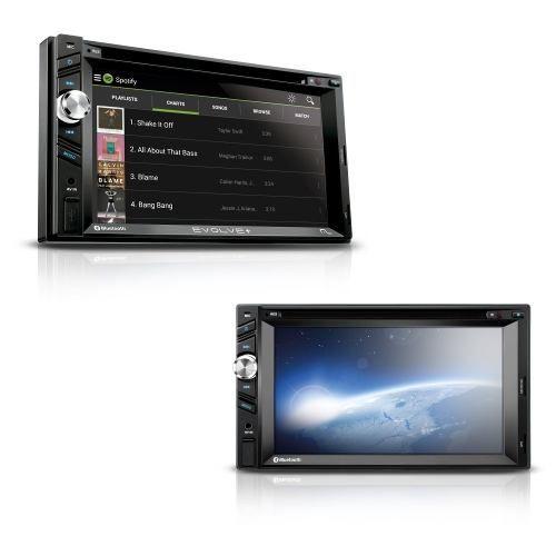 Central Multimídia Evolve+ Ford Ká 2009/2013+ Dvd 2 Din Espelhamento - SONNIC SOUND