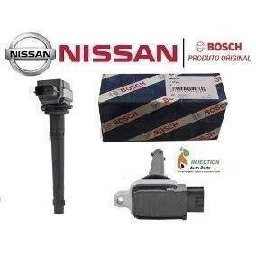4 Peças Bobina Original Bosch Nissan Tiida Livina Sentra 1.8 E 2.0 0221604014 - SONNIC SOUND