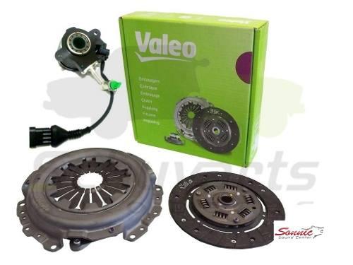 Kit Embreagem C/ Atuador Fiat Doblo/Idea/Siena/Punto/Strada/Stilo 1.8 8v Dualogic Original Valeo 228225/LUK510020510 - SONNIC SOUND