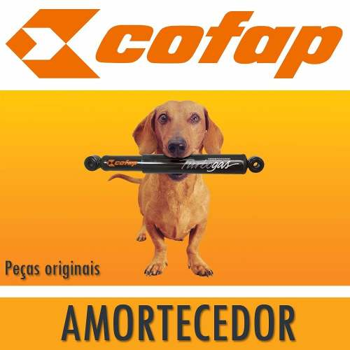 Kit 4 Amortecedores S10 Cabine Dupla 4X2 2006/2011 Original Cofap GL12874/GL12913 - SONNIC SOUND