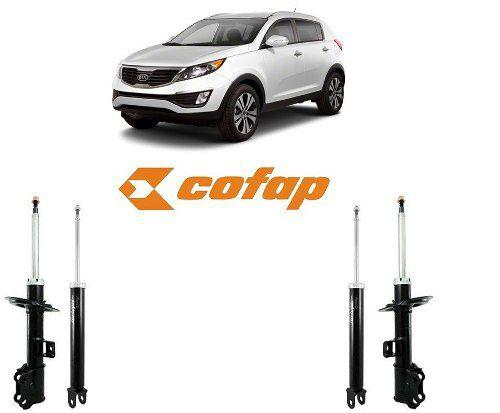 Kit 4 Amortecedor Kia Sportage 2010/2016 Original Cofap GP33222/GP33223/GB48260 - SONNIC SOUND