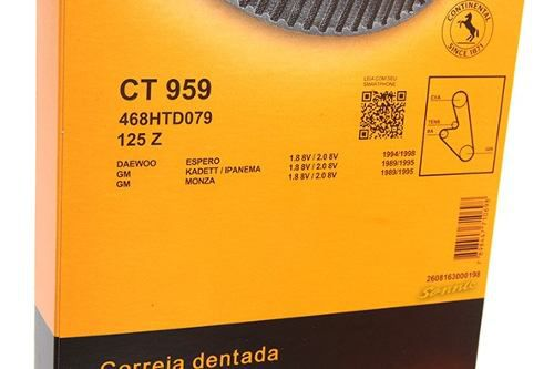 Kit Correia Dentada Tensor Daewoo Espero 1994/1998 Original CT959K1 - SONNIC SOUND
