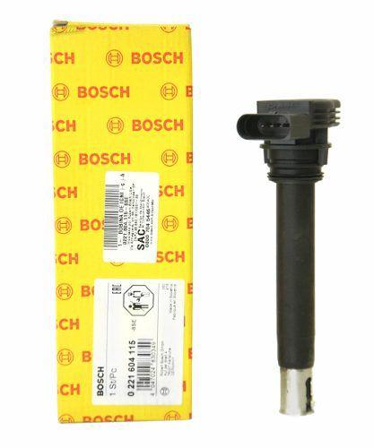 Kit 4 Bobina Ignição Audi/VW Original Bosch 0221604115 - SONNIC SOUND