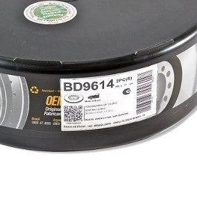 Pastilha Freio Bosch E Disco Fremax Vw Up 1.0 Tsi 2014/2019 BD9614/BN0768 - SONNIC SOUND