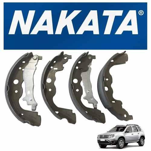 Jogo Sapata Com Lona Freio Duster/Oroch 4x2 Original Nakata Novo NKF3054CA - SONNIC SOUND