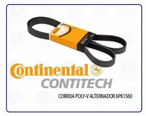 Correia Poly-v Alternador Tracker 2014/2016 Original Contitech 6PK1560 - SONNIC SOUND