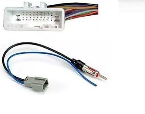 Moldura Painel Dvd 2 Din Kicks AP1191 Com Chicote Antena E Fiação Nissan - SONNIC SOUND