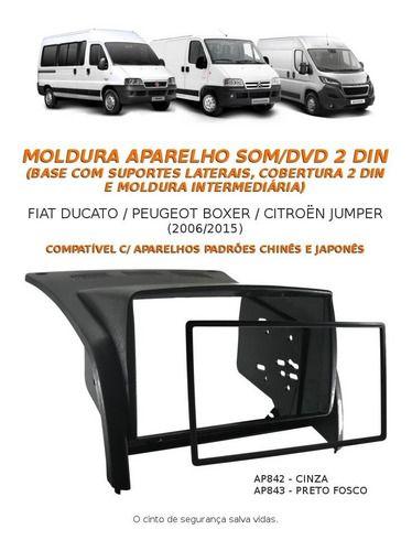 Multimidia Pioneer Peugeot Boxer + Câmera Ré+ Moldura Painel - SONNIC SOUND