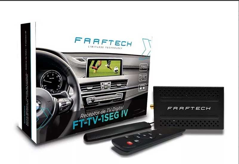 Receptor De Tv Digital Automotivo Faaftech Ft-tv-1seg Iv - SONNIC SOUND