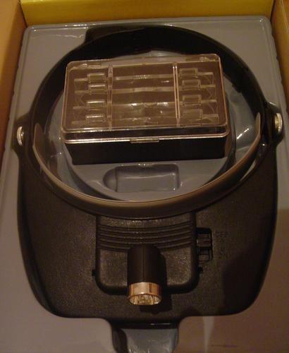 Lupa de Cabeça c/ 4 Lentes e Iluminação c/ Luz Direcional MP244L  - MGCOMPUTERS