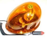 Sinalizador Giratório p/ Veículos 12V Luz de Emergência Modelo Gota  - MGCOMPUTERS