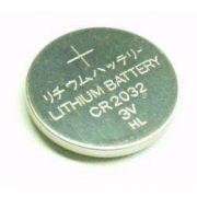 Bateria Botão CR2032 3V Lítio 5 Unidades p/ Eletrônicos
