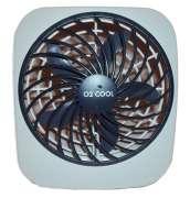 Ventilador Portátil de Mesa O2 Cool Usa Pilhas ou Fonte 3V 2283