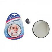 Espelho Anti Emba�ante Com Aumento de 5X e Ventosas Para Fixar Fog Free Mirror Evriholder FFM-5X