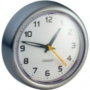 Relógio em Aço Inox Para Box de Banheiro Resistente À Água Com Ventosas Inter Design ID-435-80