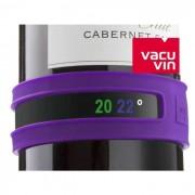 Termômetro Flexível em Silicone Para Garrafas de Vinho Snap Thermometer Vacu Vin