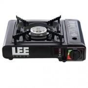 Fog�o Port�til Fogareiro A G�s Butano Com Acendimento Autom�tico Para Camping Lee Tools 604246