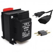 Autotransformador Transformador de Voltagem Bivolt 110V Para 220V e 220V Para 110V 500VA Upsai AT500T