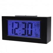 Relógio De Mesa Digital Com Despertador Termômetro e Dígitos Grandes 820 Preto