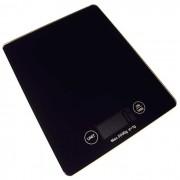 Balança Para Cozinha Digital Em Vidro Capacidade De 5kg E Precisão De 1g KE6 Preta