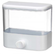 Saboneteira Porta Sabonete Líquido de Parede Em Acrílico Transparente 900ml Fiorella 6105
