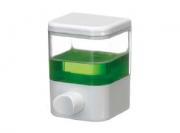 Saboneteira Porta Sabonete Líquido de Parede Em Acrílico Transparente 250ml Fiorella 6101