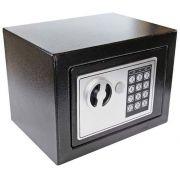 Cofre Eletrônico Com Senha e Chave de Segurança Western CFR-01