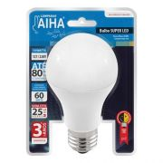 Lâmpada De Super Led Bulbo 10w Branca Fria 6500k Bivolt Aiha AH-LEDBULB-10-BI-6500