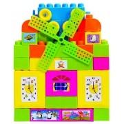 Blocos De Montar Com 46 Peças Brinquedo Educativo Art Brink AS011832