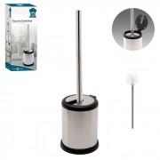 Escova Sanitária Com Tampa Automática Para Banheiro Inox Art House 13122