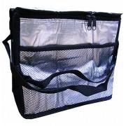 Bolsa Térmica Metalizada Cooler Com Alças e Bolso Externo 10 Litros FWB 92526