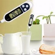 Termômetro Culinário Digital Tipo Espeto Medidor De Temperatura Para Cozinha TP300