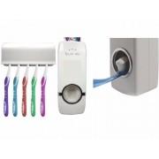 Dispenser Para Pasta Dental Com Porta Escovas De Dentes Jiaxi JX5