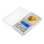 Mini Balança Digital De Bolso E Alta Precisão 0,1g Até 500g SM500