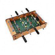 Mini Mesa Jogo De Pebolim Em Madeira 49cm x 31cm Art Game Z4085-BS249