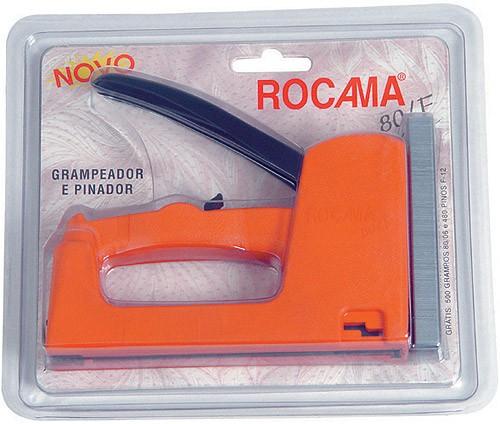 Grampeador e Pinador Para Tapeceiro e Artesanato Rocama 80/F  - MGCOMPUTERS