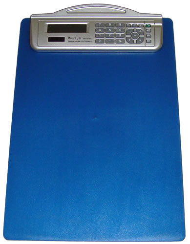 Prancheta com Calculadora 8 Dígitos e Régua Moure Jar MJ2078  - MGCOMPUTERS