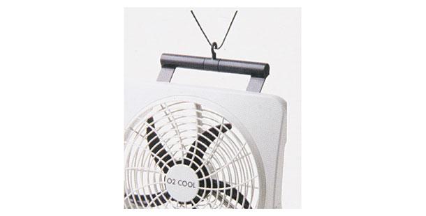 Ventilador Ventila Portátil O2 Cool 30cm Funciona com Pilhas ou Fonte Bivolt 127V 220V 2284 Branco  - MGCOMPUTERS