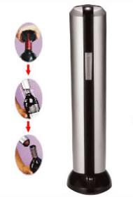 Abridor de Garrafa de Vinho Saca Rolhas El�trico Com Removedor de Lacres Casita KB160C  - MGCOMPUTERS