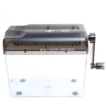 Fragmentadora de Papel Manual Com Manivela e Cesto SZ123  - MGCOMPUTERS