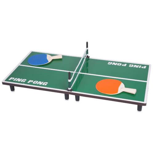 Mini Mesa de Ping Pong Tênis de Mesa em Madeira 80cm x 40cm  - MGCOMPUTERS
