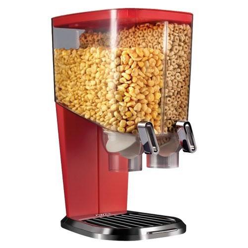 Dispenser Duplo Para Cereais Com Dosador 8 Litros Rosseto  - MGCOMPUTERS