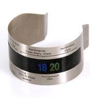 Termômetro Para Garrafas de Vinho em Inox Dynasty 12849  - MGCOMPUTERS