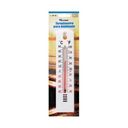 Termômetro Para Ambiente Com Escala Em Celsius e Fahrenheit Western TR10  - MGCOMPUTERS
