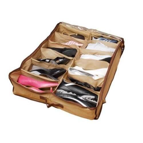 Sapateira Organizadora de Sapatos Com 12 Divisórias Art House Z1699  - MGCOMPUTERS