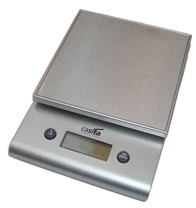 Balança de Cozinha Digital Até 3Kg Precisão de 1g Casita EM2855ST  - MGCOMPUTERS
