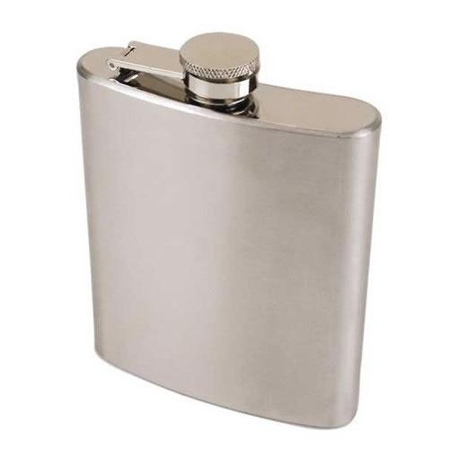 Cantil Garrafa em Inox de Bolso Porta Whisky e Bebidas 7 Oz  - MGCOMPUTERS