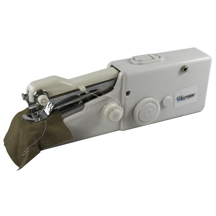 Mini Máquina de Costura Portátil Sem Fio A Pilha Western 4190  - MGCOMPUTERS