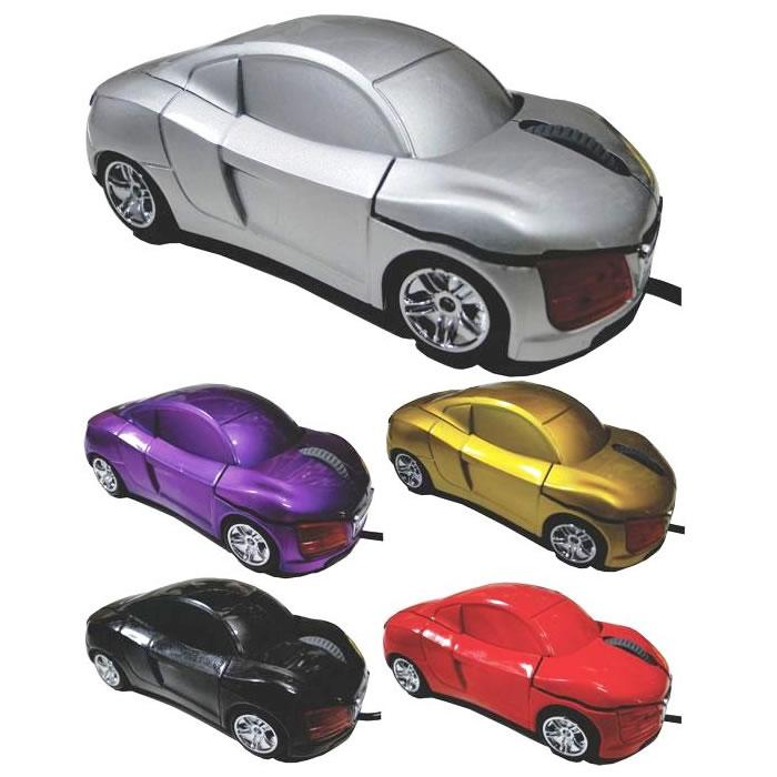 Mouse Óptico USB Carrinho 800DPI Para Notebook e PC  - MGCOMPUTERS