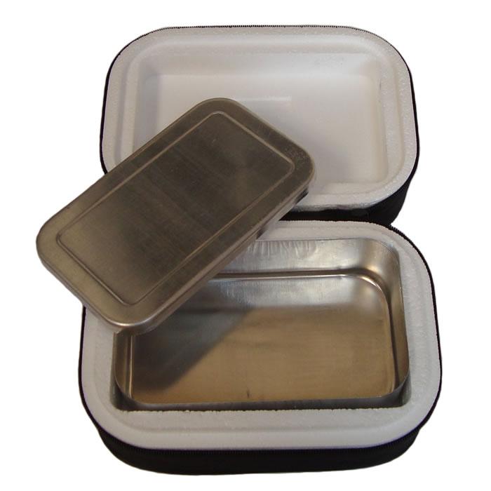 Marmita Térmica Em Alumínio Com Isopor e Capa em TNT Retangular  - MGCOMPUTERS